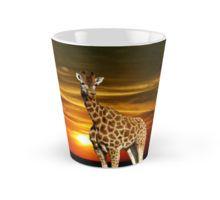 #giraffe Enchanting Sunset Evening #mug