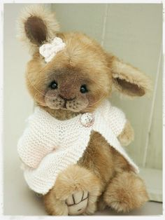Three O'Clock Bears: Bettie Bunny Available