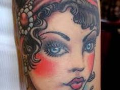 Image result for plus size pin up tattoo