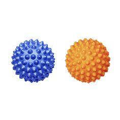 RhinoPro Hard Massage Ball 2-pack - Orange & Blue