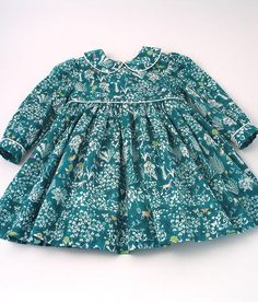 Liberty Fabric, Winter Collection, Frocks, Night Gown, Baby Knitting, Dress Making, Boho Shorts, Kids Outfits, Teal