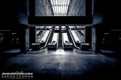 / Where Two Worlds Collide by Aaron Yeoman London Photography, Urban Photography, Bermondsey London, London Underground Stations, Architectural Photographers, London Bridge, Second World, Amazing Architecture, Prints For Sale