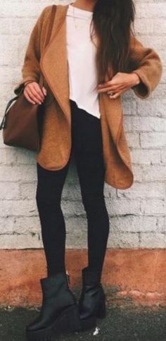 #fall #fashion / camel
