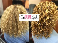 naturally curly hair by The Curl Girl, Florida's Curly Hair Expert. #ouidad #devacurl #innersense