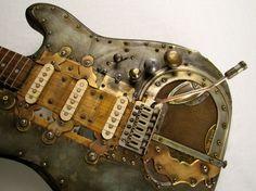Decrepicaster guitar
