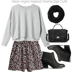 nice Teen Wolf - Lydia Martin Inspired Cinema Date Outfit