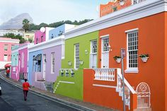 The most colorful cities in the world.  Cape Town, South Africa