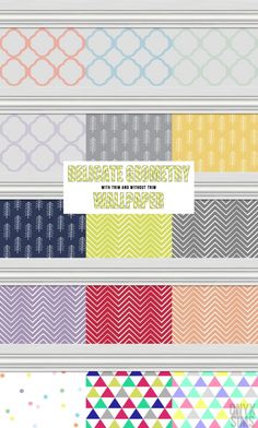 Delicate Geometry Wallpapers at Onyx Sims via Sims 4 Updates