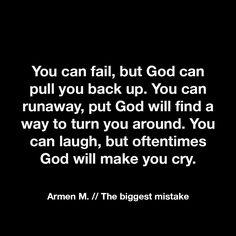 Armen M // The biggest mistake