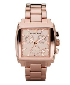 MK Chronograph Rose Gold Stainless Steel watch MK5331 $250.00