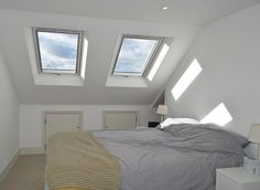 Imagine sleeping under the stars every night, or being able to lay back in the comfort of your own bed and watch the clouds go by?  You can :)  Installing skylights both brightens up your home and improves ventilation.   If you need advice from the experts, do like so many others and talk to us today!  Image via Instagram user  @ashislandlofts