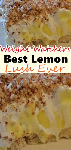 not weight watcher friendly but can be close by making ingredient changes( sugar free, etc) .not weight watcher friendly but can be close by making ingredient changes( sugar free, etc) Weight Watcher Desserts, Weight Watcher Cookies, Plats Weight Watchers, Weight Watchers Meals, Ww Desserts, Sugar Free Desserts, Lemon Desserts, Healthy Desserts, Dessert Recipes