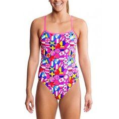 c986ebc987d38 Funkita Ladies Swimwear - Nations United Single Strap One Piece