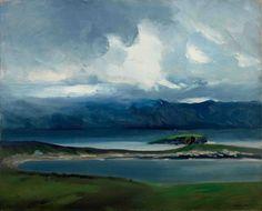 Robert Henri, West Coast of Ireland  -   Robert Henri, 1913.  American , 1865-1929  Oil on canvas, 26 x 32 inches.   Everson Museum of Art