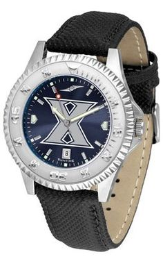 Xavier University Musketeers Competitor Anochrome- Poly/leather Band - Men's College Watches by Sports Memorabilia. $78.73. Makes a Great Gift!. Xavier University Musketeers Competitor Anochrome- Poly/leather Band