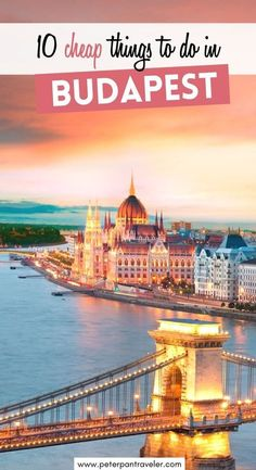 10 Cheap Things to do in Budapest. Looking for cheap and fun things to do in Budapest. Want to travel and do fun things while not spending a lot of money. Here are the best and cheapest things you can do in Budapest. This is everything you need to know before traveling to Budapest on a budget! #budapest | What to do in Budapest | Budapest Travel Tips | best things to do in Budapest | Europe Travel Guide, Europe Destinations, Cheap Things To Do, Fun Things, Budapest Things To Do In, Budapest Travel, Hungary Travel, Traveling, Travelling Europe