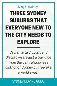 Things to do in Sydney | Expat Living Abroad | Sydney Moving Guide | Three suburbs of Sydney with multicultural flavour just a train ride away: Cabramatta, Auburn and Blacktown. SydneyMovingGuide.com/discoversydney