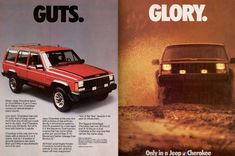Jeep Cherokee Chief Ad (1986).