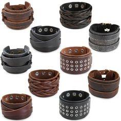 Bracelet en cuir, dans différents modèles - 1