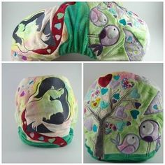 What a way for a Mother to celebrate her breastfeeding journey. Modern cloth nappy <3
