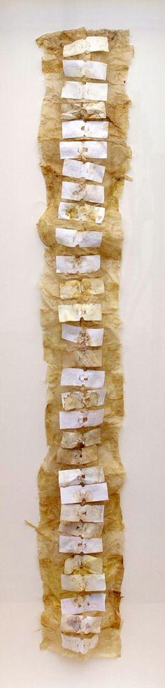 Amelia Epp - Cord (Used Tea Bags)