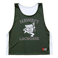 Hawaii Lacrosse Sublimated Pinnie