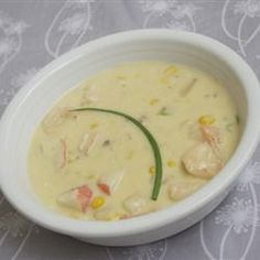 Crawfish Chowder... I ALWAYS double this recipe ... So easy to make and one that I ALWAYS get requests for, because it's DELICIOUS!!!