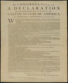 Declaration of Independence · George Washington's Mount Vernon