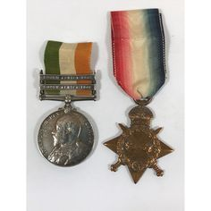 A king's south africa medal and a 1914-15 star | Lawrences Auctioneers