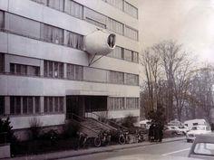 Cellules Parasites   Geneva, Switzerland. 1968-1971   Architect: Jean-Louis Chanéac