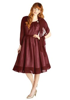 Old-Fashioned Fanfare Dress, #ModCloth this wonderful item comes in xs to 4x and is true to sizing