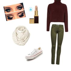 A fashion look from December 2014 featuring Vero Moda sweaters, ONLY pants and Converse sneakers. Browse and shop related looks.