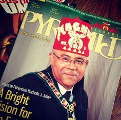 The Pyramid magazine AEAONMS