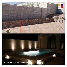 Hermosa piscina diseñada y construida en Chicureo. Santiago de Chile Outdoor Decor, Home Decor, Swimming Pool Construction, Santiago, Decks, Projects, Rock, New Homes, Interior Design