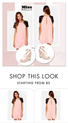 """""""Miss Holly"""" by marinalucic ❤ liked on Polyvore featuring Topshop, women's clothing, women, female, woman, misses and juniors"""
