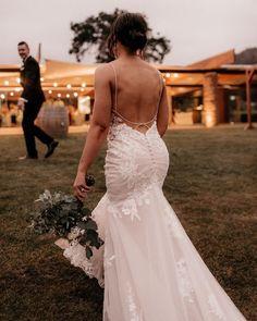 27 Bridal Inspiration: Country Style Wedding Dresses ❤ country style wedding dresses with spaghetti straps lace backless essenseofaustralia #weddingforward #wedding #bride #weddingoutfit #bridaloutfit #weddinggown