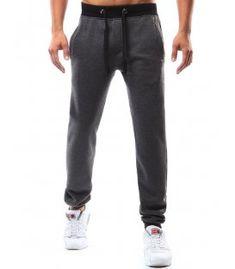 Antracitové pánske teplákové nohavice Sweatpants, Fashion, Moda, Sweat Pants, Fasion, Training Pants