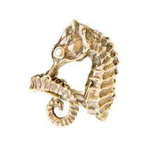 cute seahorse ring