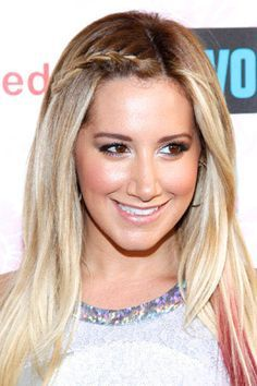 Ashley Tisdale's Celebrity-Approved Mini Braid Hairstyle