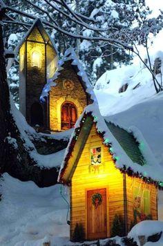 Christmas Village in Caux ( Montreaux Riviera, Switzerland)
