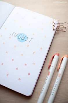 august bullet journal The month of August in your bullet journal can be represented by a number of different themes. For many people, it means the end of summer and the time to go Bullet Journal Agenda, August Bullet Journal Cover, Bullet Journal Monthly Spread, Bullet Journal Notebook, Bullet Journal Aesthetic, Bullet Journal School, Bullet Journal Ideas Pages, Bullet Journal Layout, Bullet Journal Inspiration