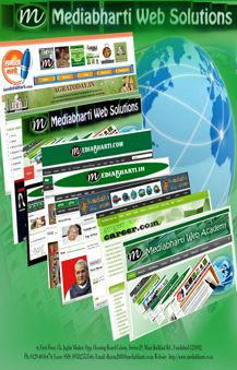 Mediabharti Web Solutions Ad for print editions...