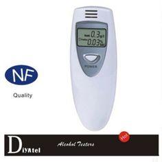 Prefessional 2pcsPolice Digital LCD Alcohol Breath Tester Analyzer Breathalyzer Breathalyser DetectorTest Easy To Use Alcotester