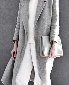 look gris et blanc