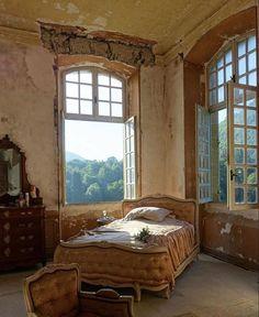 Interior Architecture, Interior And Exterior, Fashion Architecture, Chateau De Gudanes, Home Design, Interior Design, Bed Design, Sweet Home, Decoration Bedroom