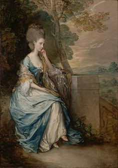 HAPPY BIRTHDAY Thomas Gainsborough FRSA (christened 14 May 1727, died 2 August 1788) was an English portrait and landscape painter.