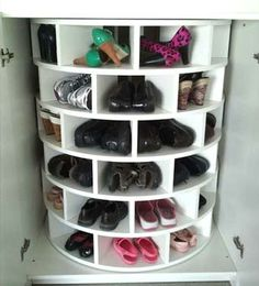 вращающаяся полка для обуви