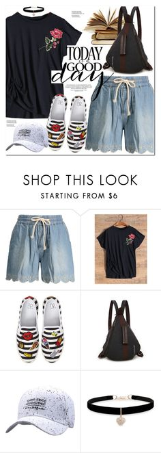 """""""Good Day"""" by oshint ❤ liked on Polyvore featuring BP., Betsey Johnson, awesome, amazing, cool, fabulous and zaful"""