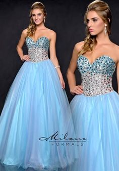 Milano Formals Sweetheart Neckline Long Dress E1715