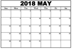 May 2018 Calendar, 2018 Printable Calendar, Excel Calendar Template, October Calendar, Print Calendar, Calendar Pages, Calendar Wallpaper, February, Monthly Calendars